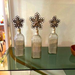 Mac Sculpture Hand Made Starfish Bottles